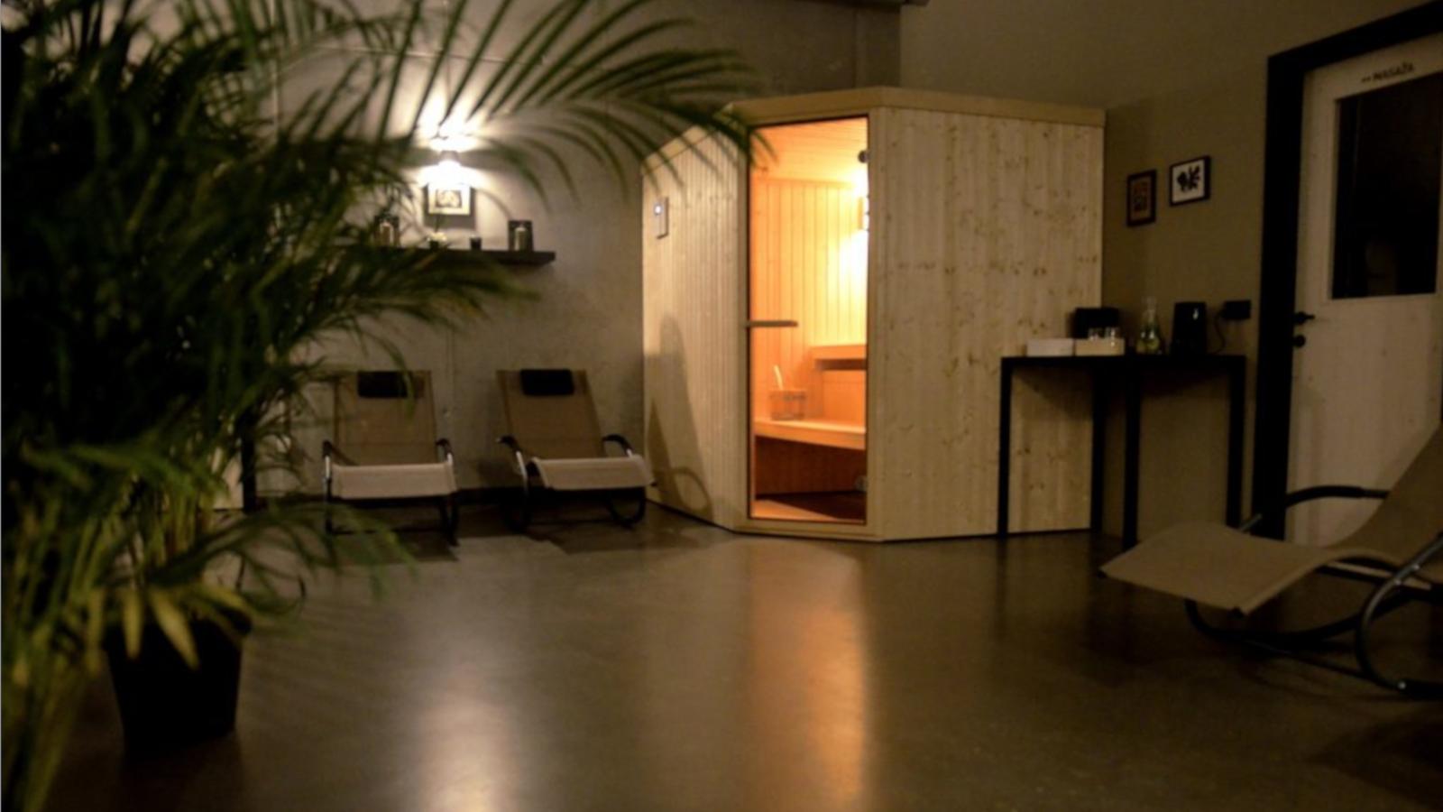 Vaš zasebni wellnes s savno in masažo