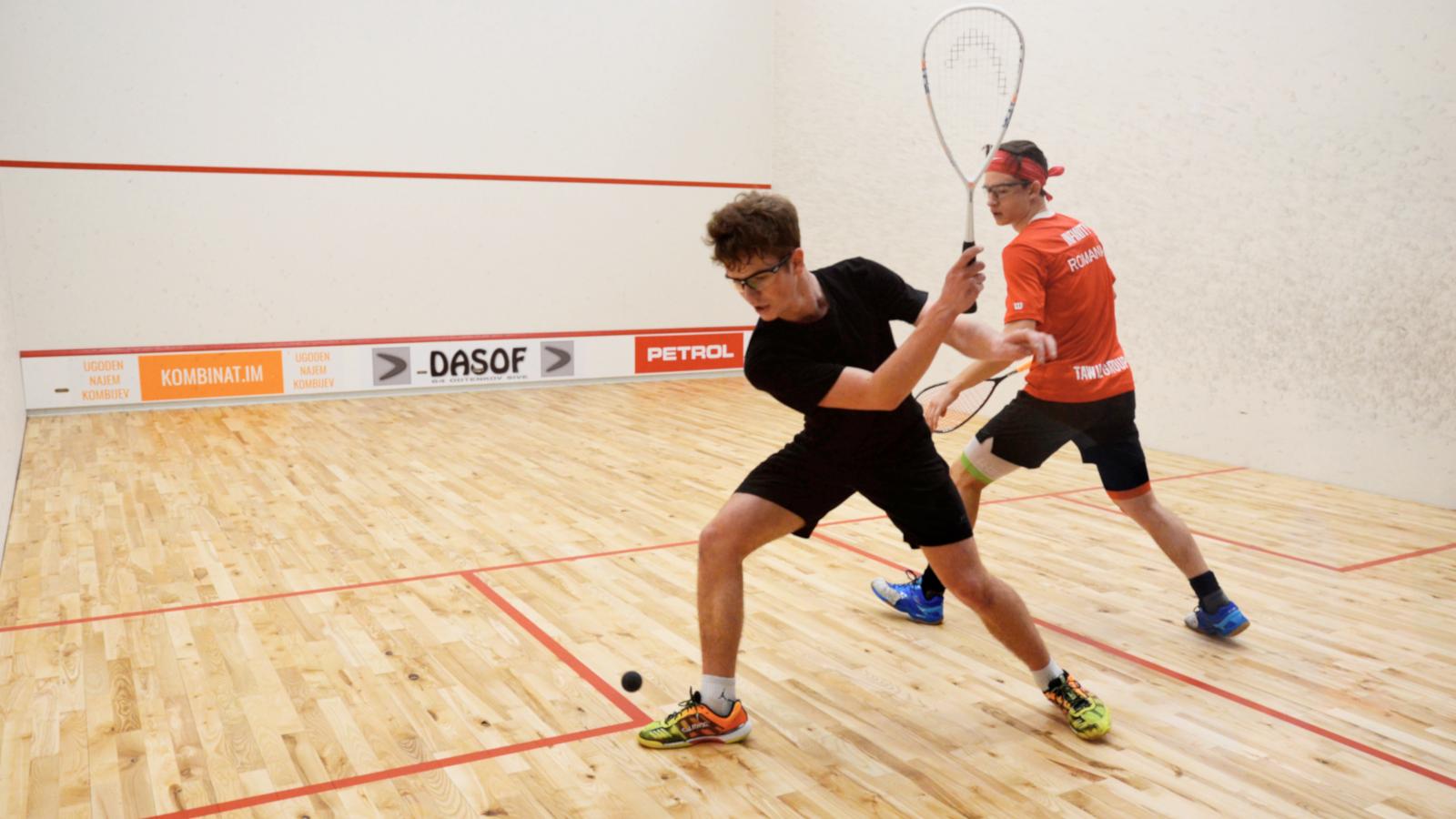 Organizacija squash tekmovanj